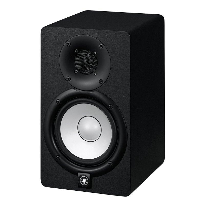 Monitor de Referência Yamaha HS5 Preto Bi-amplificado com 45W de Potência 127V