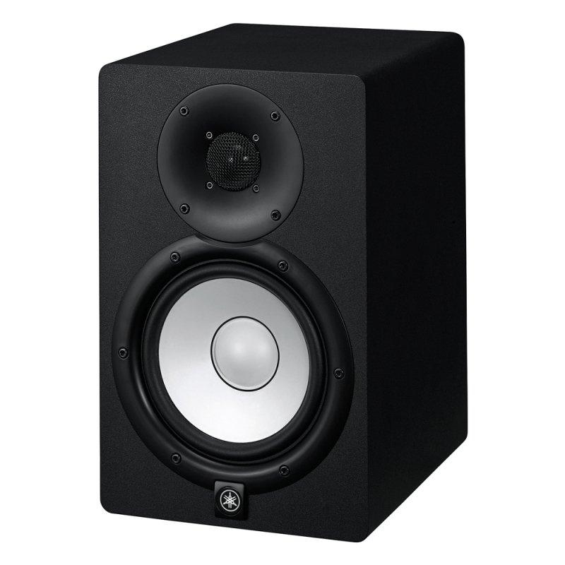 Monitor de Referência Yamaha HS7 Bi-amplificado Preto 127V
