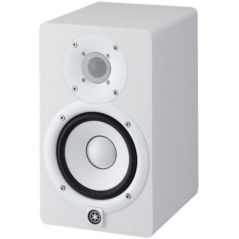 Monitor de Referência Yamaha HS7 Bi-amplificado Branco com Woofer 6,5 de 60W e Driver 1 35W 127V