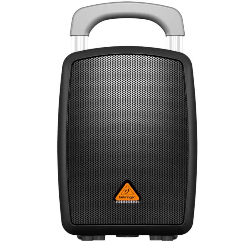 Caixa Acústica Portátil Behringer MPA40BT-PRO Bivolt Preta 40W Bluetooth e Alça de Transporte