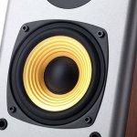 Monitor de Áudio Edifier 2.0 R1000T4 24W RMS Bivolt Madeira