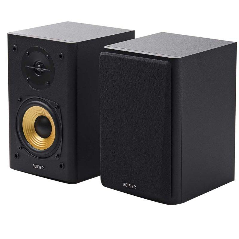 Monitor de Áudio Edifier 2.0 R1000T4 24W RMS Bivolt Preto