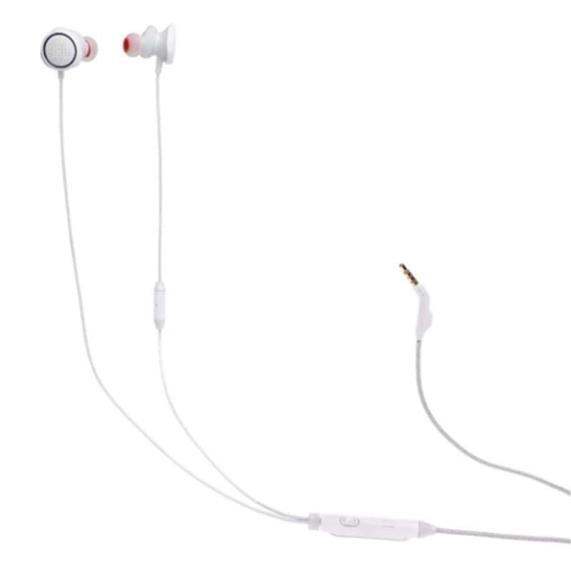 Fone de Ouvido JBL QUANTUM 50 com fios Intra Auriculares para Jogos Branco
