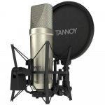 Microfone Condensador para Estúdio Tannoy TM1 Padrão de Captação Cardióide