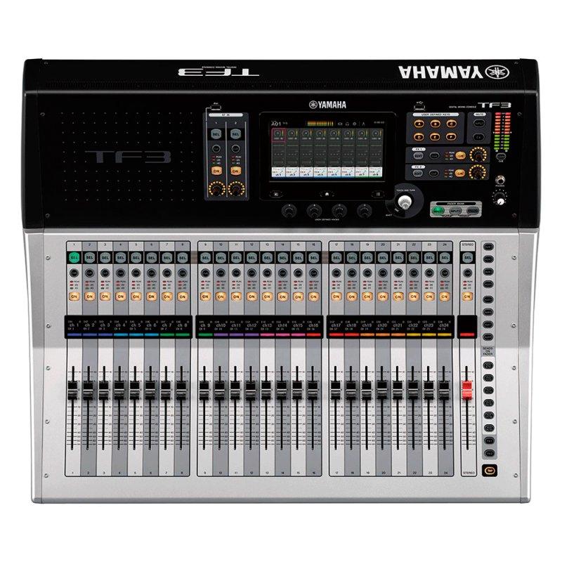 Mesa de som Digital Yamaha TF3 com 48 Canais