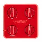 Mixer Pessoal Yamaha Session Cake SC-01 Vermelho Com Alimentação a Pilha AA