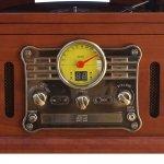 Toca Discos Raveo Stadio Bluetooth USB SD CD FM K7 Bivolt 25W e Gravação
