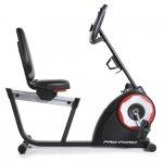 Bicicleta Ergometrica Proform Horizontal CSX 235 com Display LCD