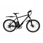 Bicicleta Elétrica ElektraBikes Sport Aro 26 com Suspensão Dianteira e Freios A Disco Preta