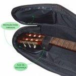 Capa para Violão Folk NewKeepers Premium 600 Preto