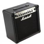 Amplificador de Guitarra Marshall MG15CFX-B 127V com 15W de Potência