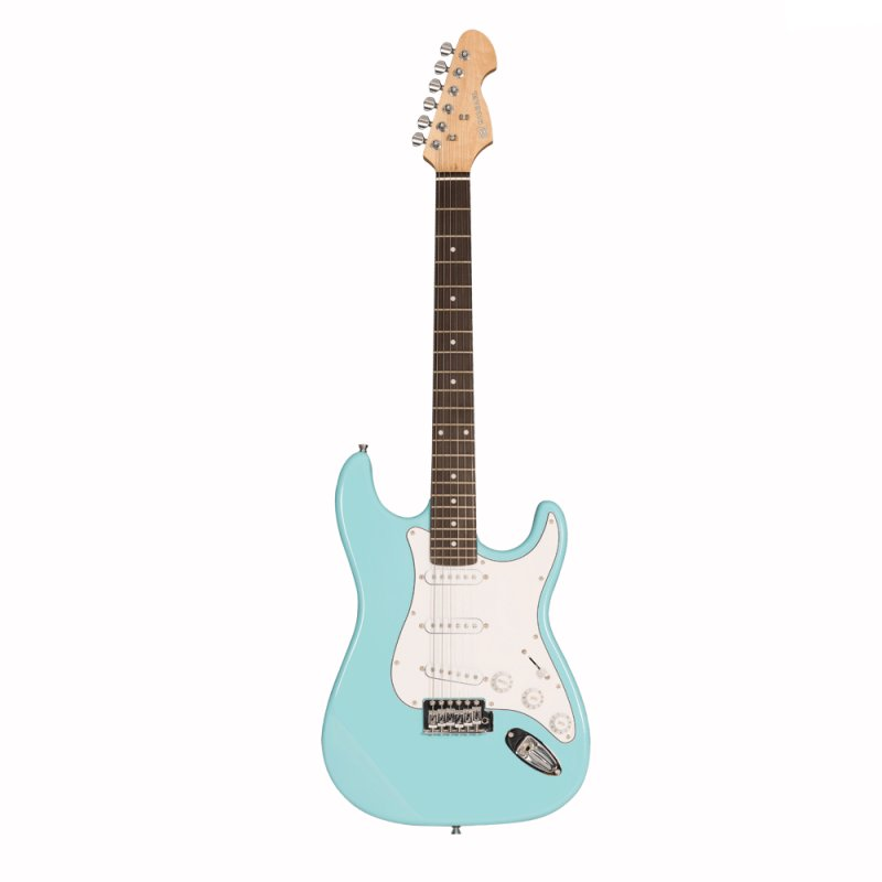 Guitarra Michael ST Standard GM217N LB com 3 captadores Single Coil Light Blue