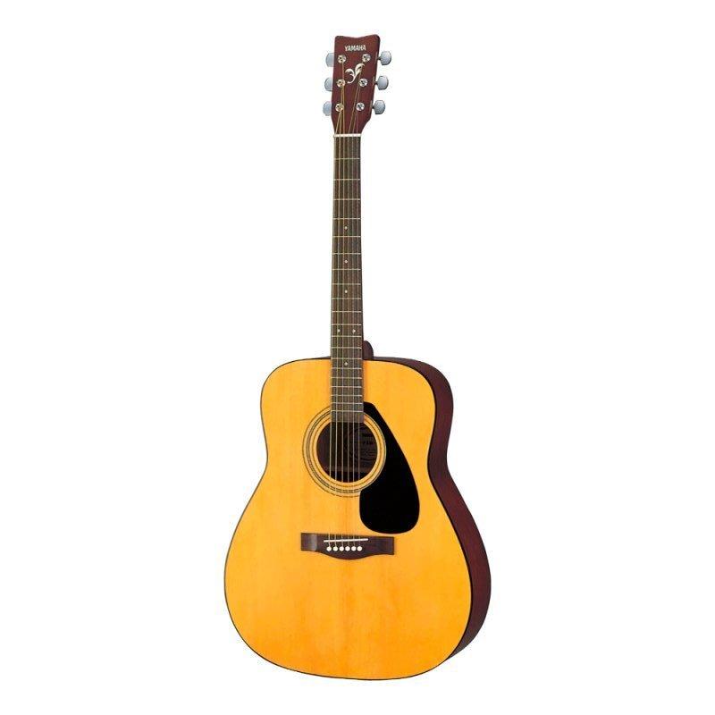 Violão Folk Acústico Yamaha F310 Natural Com Cordas em Aço e Tarraxas Blindadas