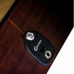 Violão Elétrico Folk Cutway Crafter HD-100CE/OP N Natural Cordas de Aço