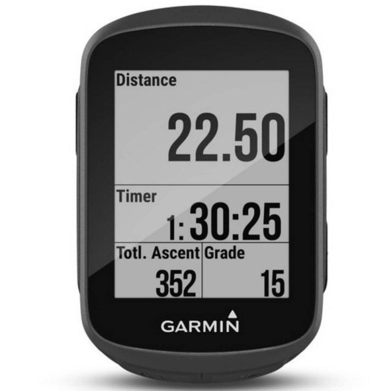 Ciclocomputador Garmin Edge 130 Preto GPS Display de 1,8 Sensor de Distância Velocidade Altitude