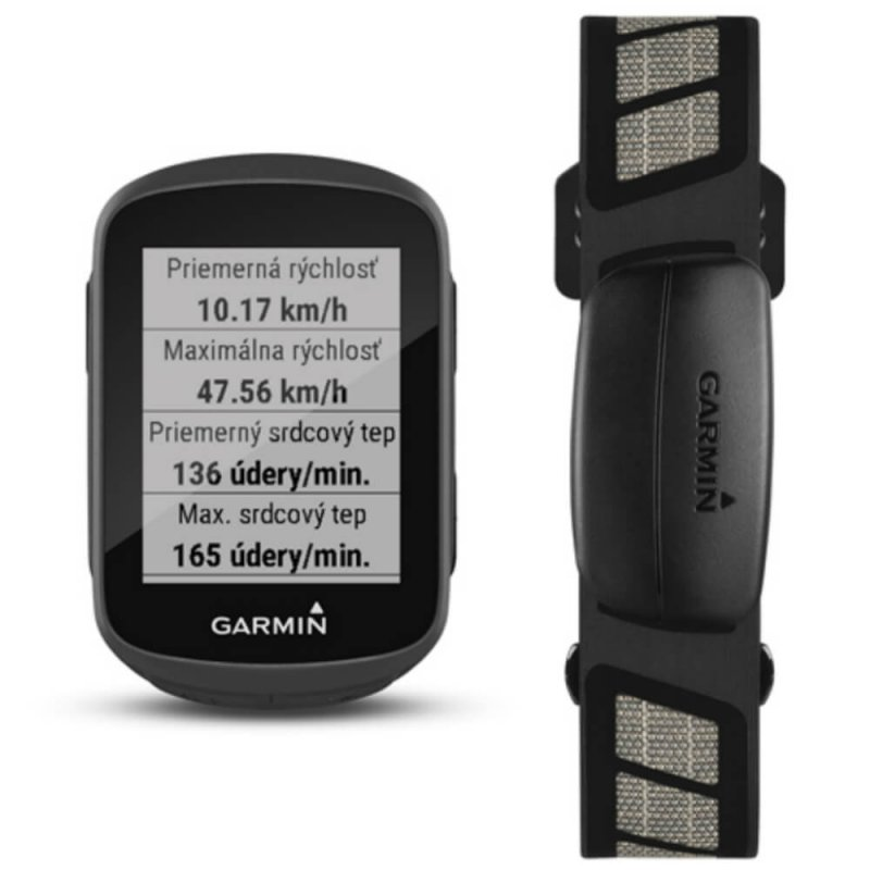 Ciclocomputador Garmin Edge 130 BUNDLE Preto GPS 1,8 com Notificações Inteligentes