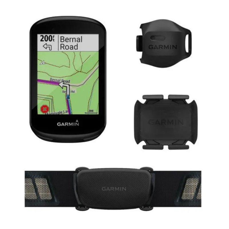 Ciclocomputador Edge 830 Bundle Garmin GPS com Monitor Cardíaco e Sensor de Velocidade e Cadência