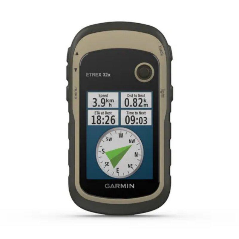 Ciclocomputador Etrex 32x Garmin 8GB GPS 2.2 com Mapa TopoActive América do Sul Bússola de 3 Eixos