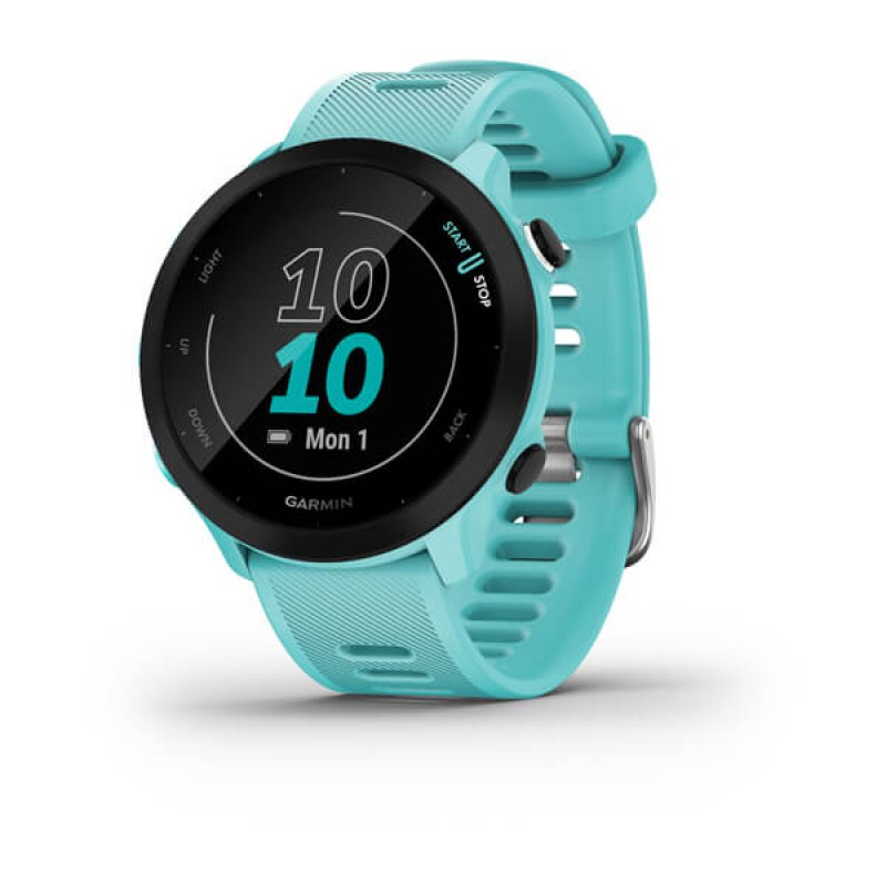 Monitor Cardiaco de Pulso com GPS Garmin Forerunner 55 Azul EU