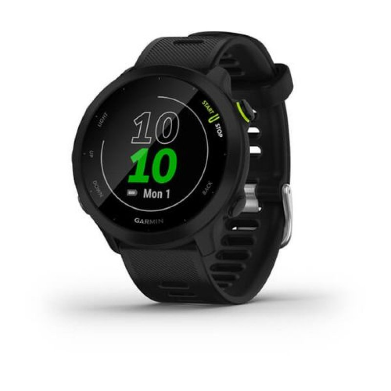 Monitor Cardiaco de Pulso com GPS Garmin Forerunner 55 Preto EU