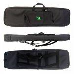 Bag para Teclado 5/8 Normal NewKeepers Eco de Courino Preto