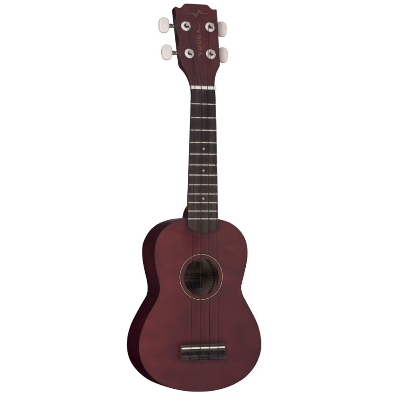 Ukulele Acústico Vogga VUK303 Soprano Brown Coffee Fosco