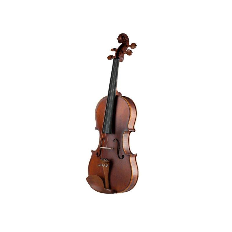 Violino Dominante 4/4 Clássico Concert 9710 Natural Acompanha Arco de Crina Animal