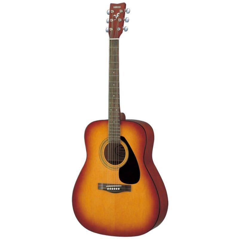 Violão Folk Acústico Yamaha F310 Tabacco Brown Sunburst com Cordas em Aço e Tarraxas Blindadas