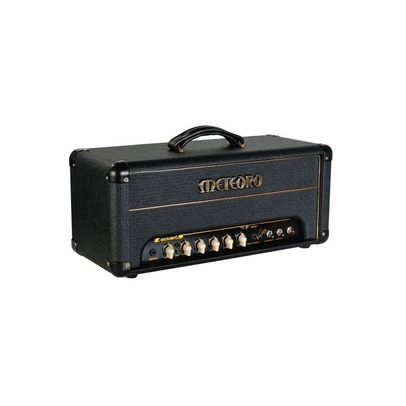 Cabeçote Amplificador Meteoro F 50g Faiska Valvulado com 50 watts e Entrada  para Footswitch   Ovelha Negra Musical e066c5e154