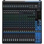 Mesa de Som Analógica Yamaha MG20XU com 20 Entradas Pré-Amplificador D-PRE 24 Programas de Efeitos