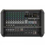 Mesa de Som Amplificada Yamaha EMX5 Bivolt 12 Entradas 5 Saídas 24 Efeitos