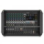 Mesa de Som Amplificada Yamaha EMX7 Bivolt com 12 Entradas e 5 Saídas 24 Efeitos