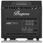 Amplificador de Violão Portátil Bugera AC60 Bivolt Preto 60W com 2 Canais