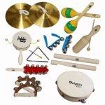 Bandinha Dolphin com 10 Instrumentos Infantis e Bolsa 8458