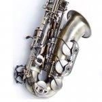 Saxofone Alto Waldman WSA OL Acabamento Vintage e Afinação em Mi Bemol