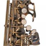 Saxofone Alto Michael WASM46 EB Escovado com Afinação em Mi Bemol e Case Mochila
