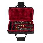 Clarinete Vogga VSCL701N Afinação em Si Bemol 17 Chaves Niqueladas 2 Barriletes