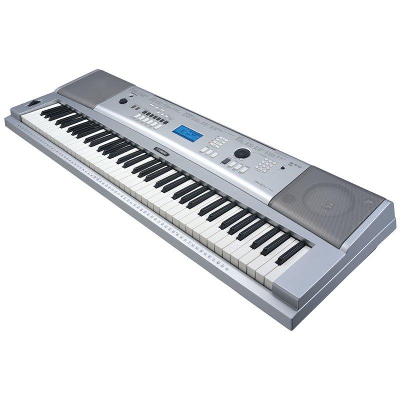 piano digital yamaha dgx 230 prata com 32 de polifonia e 489 timbres ovelha negra musical. Black Bedroom Furniture Sets. Home Design Ideas