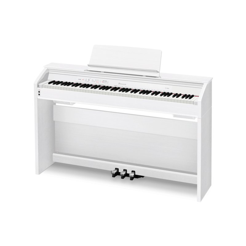 250659751e9 Piano Digital Casio Privia PX-860 Branco com 256 de Polifonia e 60 ...