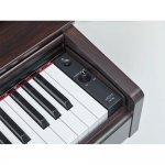 Piano Digital Yamaha Arius YDP-103R Marrom com 64 de Polifonia e 10 Timbres