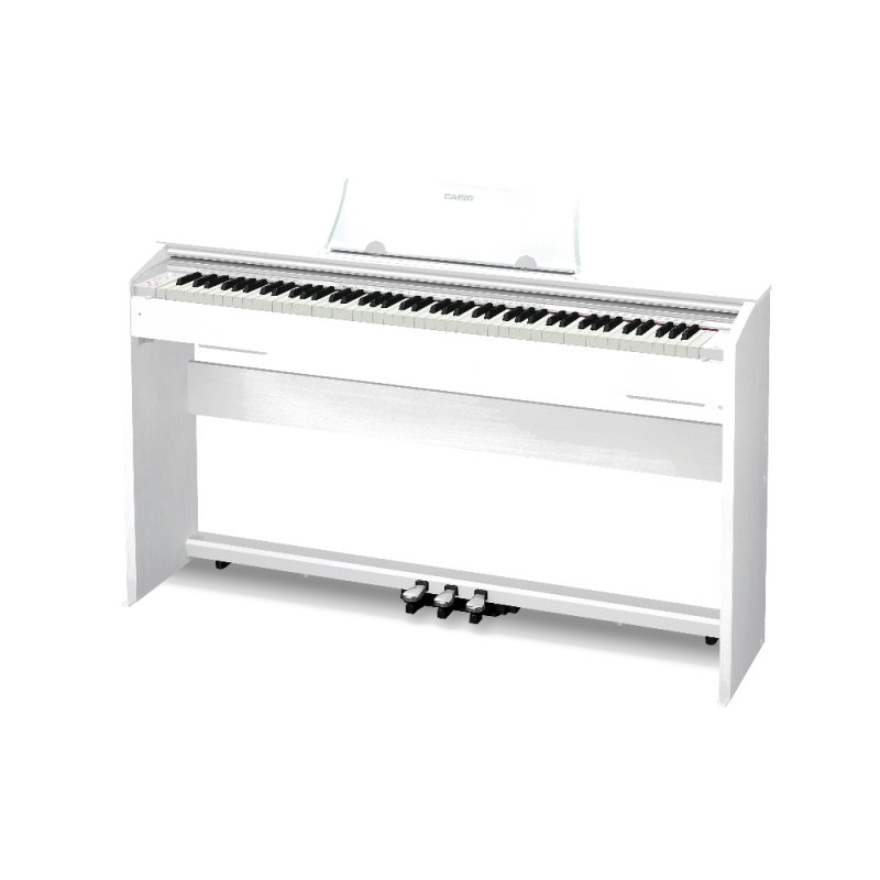 Piano Digital Casio Privia PX770WE com 88 Teclas Bivolt Branco