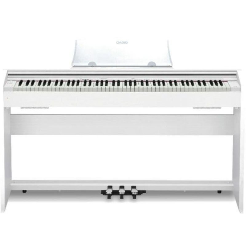 Piano Digital Casio Privia PX770WE com 88 Teclas Bivolt Branco