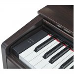 Piano Digital Yamaha Arius YDP-103R Marrom com 88 Teclas 64 de Polifonia e 10 Timbres