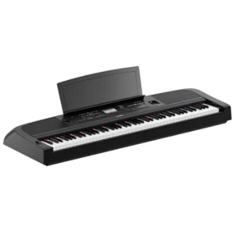 Piano digital Yamaha Portátil DGX 670 Preto