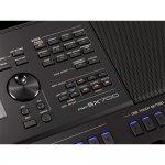 Teclado Arranjador Yamaha PSR-SX700 61 Teclas Sensitivas 986 Sons 400 Estilos 1GB Memória Joystick