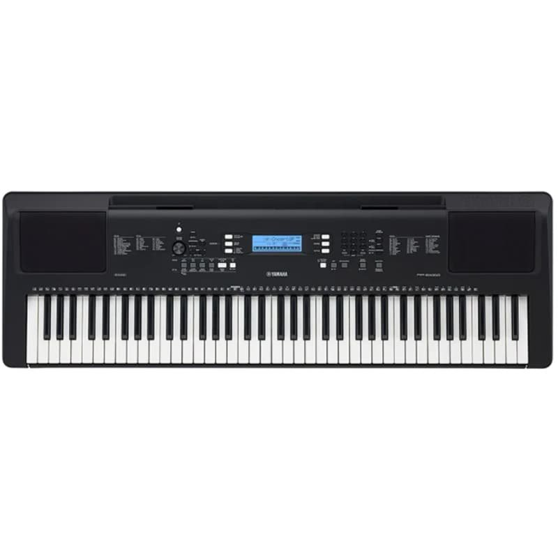 Teclado Musical Eletrônico PSR-EW310 Yamaha 76 teclas 622 Sons de Instrumentos Preto