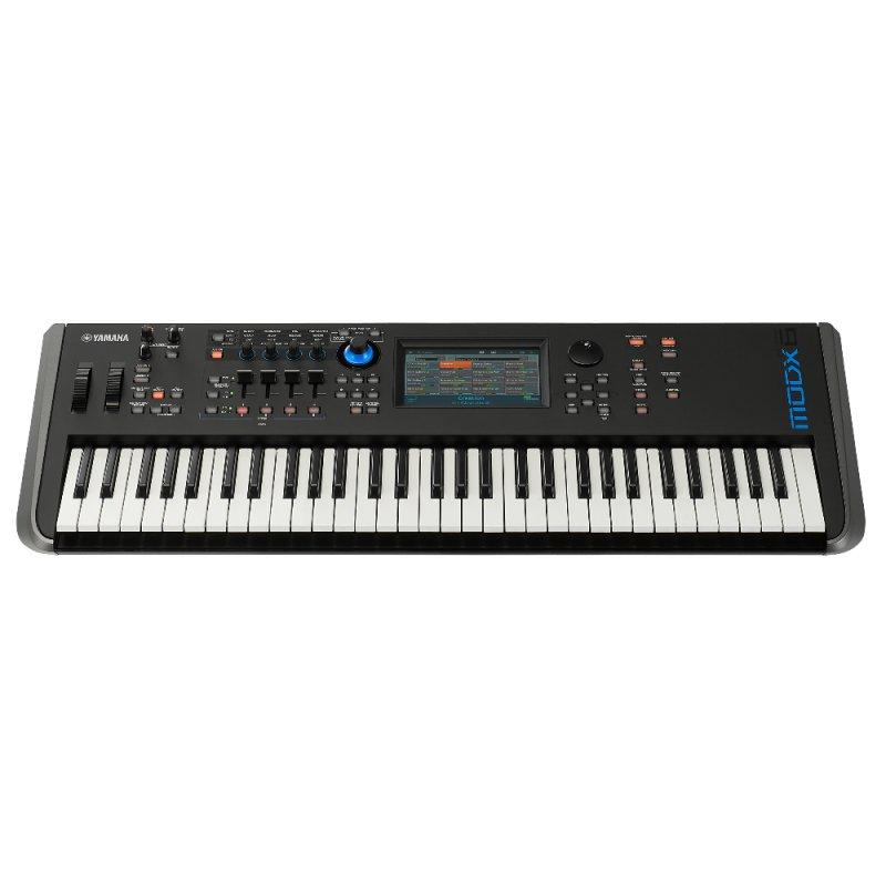 Teclado Sintetizador Yamaha MODX-6 com 61 Teclas Preto