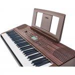 Teclado Musical Yamaha PSR-E360DW Dark Walnut com 61 teclas e Teclas sensíveis ao toque