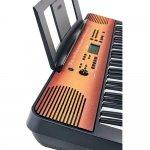 Teclado Musical Yamaha PSR-E360MA Maple com 61 teclas e Teclas sensíveis ao toque