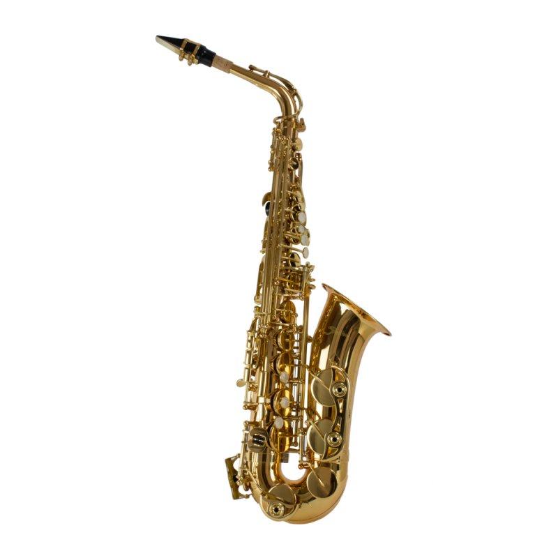 Saxofone Alto Shelter SGFT6430L Laqueado Dourado Afinação Mi Bemol